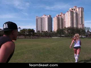 TheRealWorkout Dirty Blonde Addison Avery Made Love After Football Training