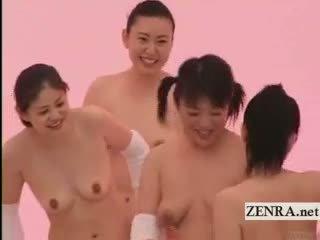 brunette, japanese hottest, see lesbian