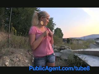 PublicAgent Natally shows me more than just her big boobs outdoor