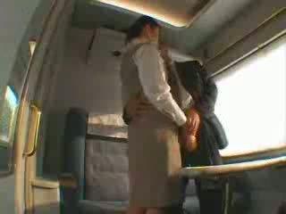 Japonais train servis baise vidéo