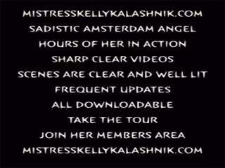 Mistress Kelly Kalashnik Blonde Sadistic Amsterdam Angel