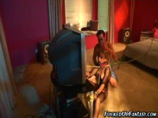 Holly wellin doing महान striptease में बीड़ीएसएम कार्रवाई
