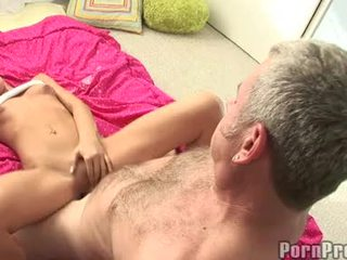 Lusty SMall Boobed TAnner Mayes Getting Her Bawdy Cleft Cracked By A Monster Jock