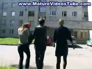 2 mature mother fucking with 2 dude (no
