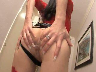 Jayla starr shows off cô ấy rất sexy đỏ đồ lót