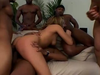 gang bang you, big cock you, interracial real