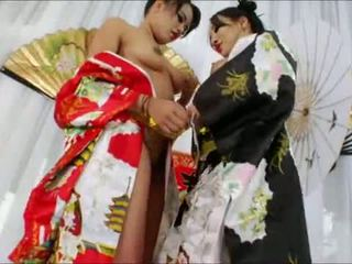 Yummy oriental beauties annie cruz y asa akira culo wrecked