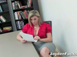 Jayden James: Sara Jay and Jayden James go fully lesbo