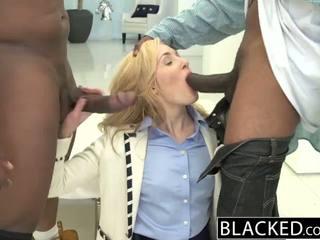 Blacked 2 groß schwarz dicks für reich weiß mädchen
