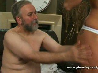 hardcore sex, older, blowjob, small tits