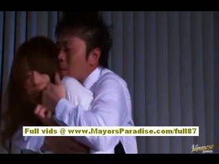 Akiho yoshizawa kineze vajzë gets e abuzuar në punë