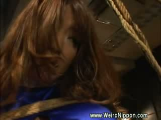 Bizarre japanese pregnant binded