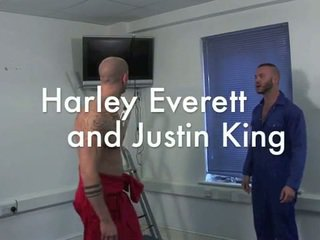 Harley everett 和 justin 王