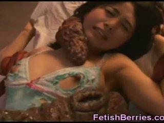 Tentacles sperma pe asiatic beauty!