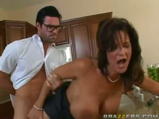 Deauxma Getting Drilled On Her Twat At The Kitchen