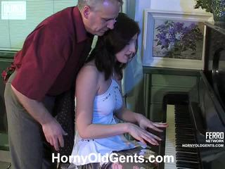 Hot Horny Old Gents Vid Starring Jaclyn, Alana, Emmie