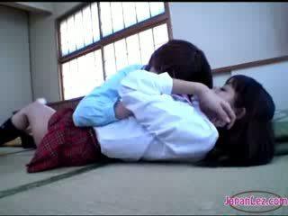 lindo, japonés, lesbianas
