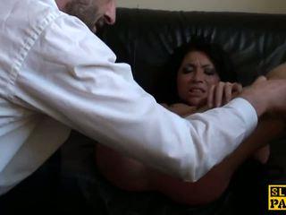 Rowdy uk sub disciplined 同 一 粗 他妈的: 自由 高清晰度 色情 15