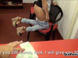 Sexy Frontdesk Girl Aysha Rouge Screwed In Exchange For Cash