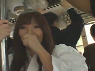 巨乳 日本语 女孩 hitomi tanaka banged 在 公