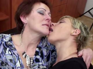 lesbiske, grannies, forfall