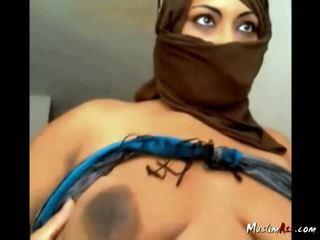 Saudi Woman Masturbates On Cam