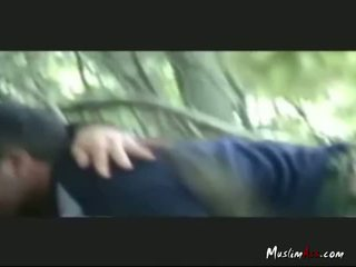 Hijab Indonesian Girl Fucked Outdoor