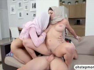 Mia Khalifas Threesome Hot Sex Scene