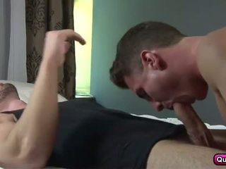 homosexuál, zkontrolovat sval, kvalita skýva sledovat
