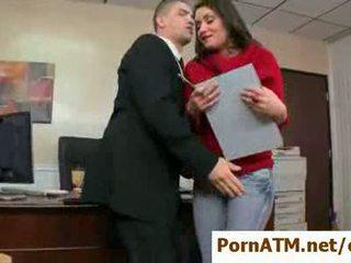 Sexy big tit secretaries banged by their bosses clip12