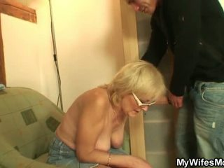 He Shafts Porn Loving Mother In Law