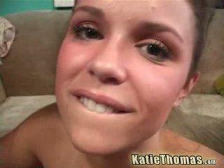 Katie thomas 和 该 黑色 anaconda