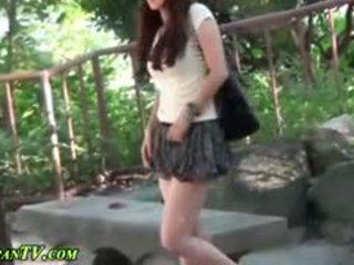 japonski, javni, na prostem, fetiš