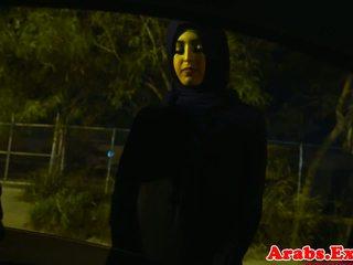 Arab hijabi perses sisse keelatud tihke tussu: tasuta porno 74