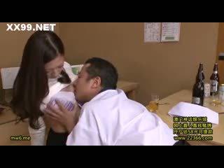 brunette more, oral sex, rated japanese