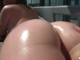 brunette, doggystyle, ass fucking, girlfriends