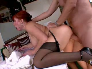 nice redhead full, any big tits see, facials rated