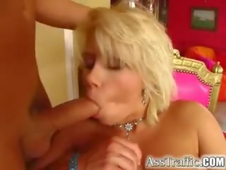 Ass Traffic Wild Lucy gets Fucked from Behind with Toys