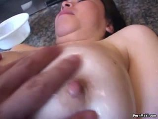 Asian Granny gets Her Hairy Pussy Dildoed: Free Porn 55
