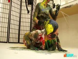 Messy Euro Paint Fight