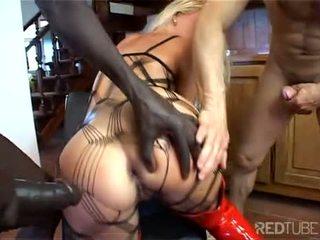 Sexy Nikki Sun shows off her anal skills