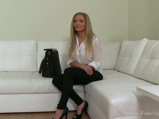 Alluring Amateur Banged At The Casting (nicky angel)
