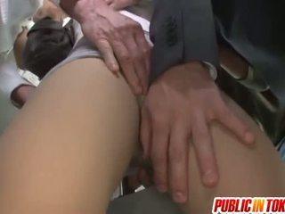 hardcore sex, japonés, sexo en público, mamada