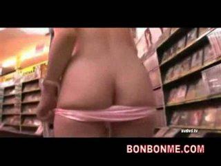 Big tits jap cuite is nude in video rental shop