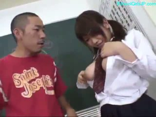 mladý, japonec, dívka
