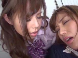 japānas, lesbietes labākais, jauks old + young jums