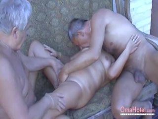 Omahotel heiß großmutter enjoying sex, kostenlos porno af