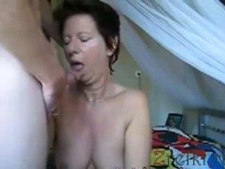 Facefuck ناضج موم زوجة