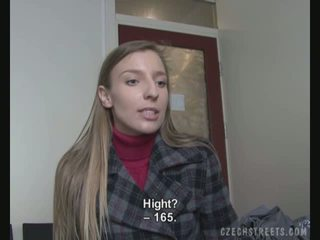 Casting video- met an amateur straat meisje