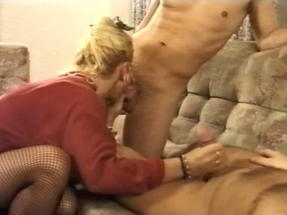 German MILF gets Double Teamed, Free Mature Porn Video 29